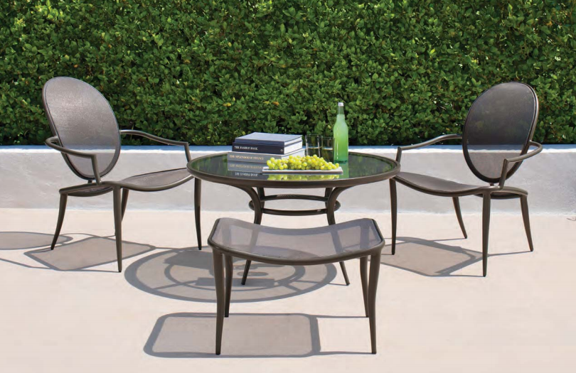 Patio things biarritz by brown jordan european for Outdoor furniture europe