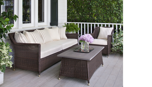 Southampton Richard Frinier Brown Jordan Outdoor Patio Furniture