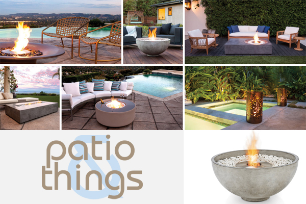 Patio & Things EcoSmart Brown Jordan Fires