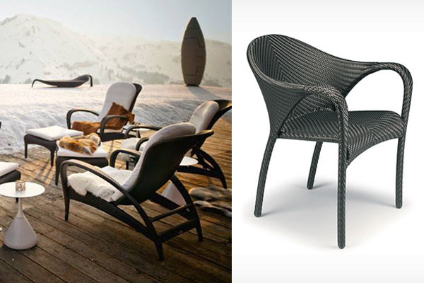 Dedon De patio things collection by dedon is distinguished by its