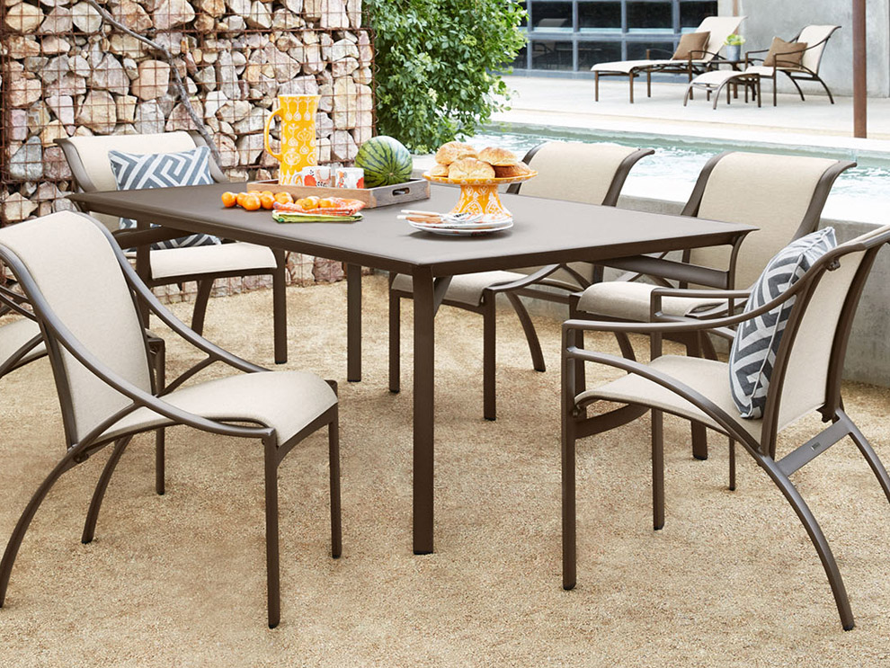 Genial Brown Jordan Pasadena Patio Outdoor Pool Furniture Dining