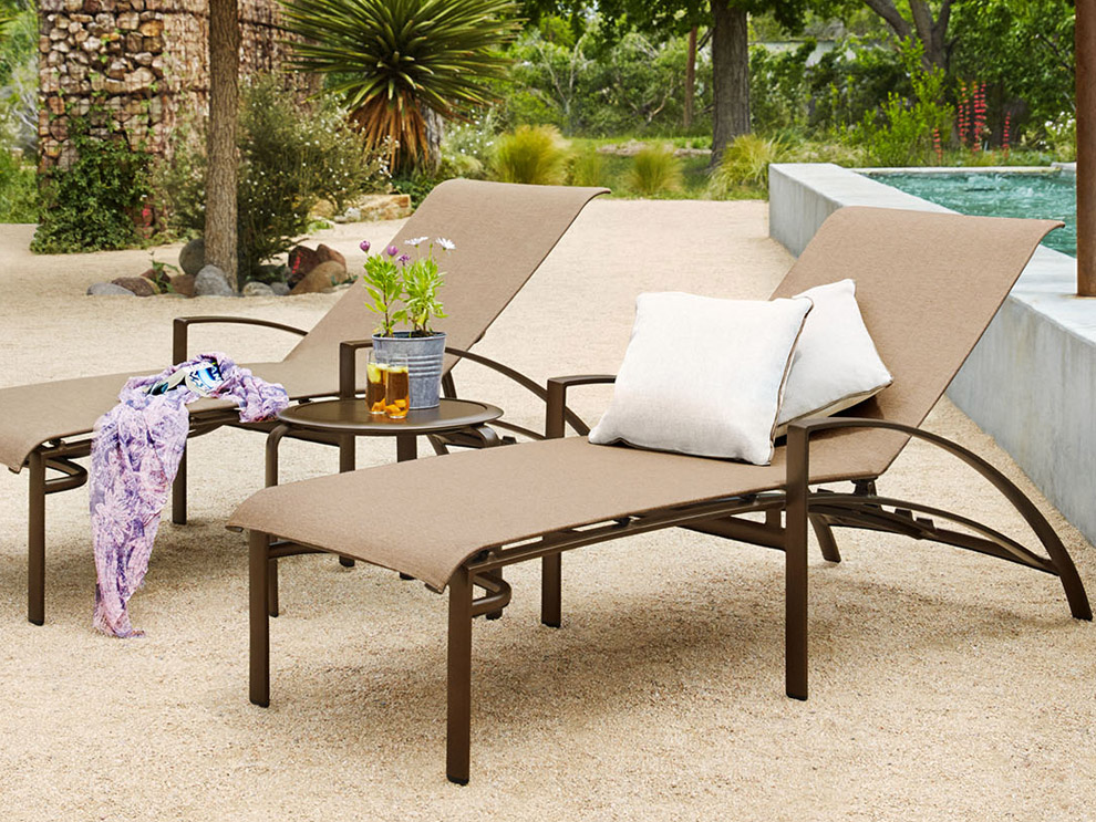 Brown Jordan Pasadena Patio Outdoor Pool Furniture Dining