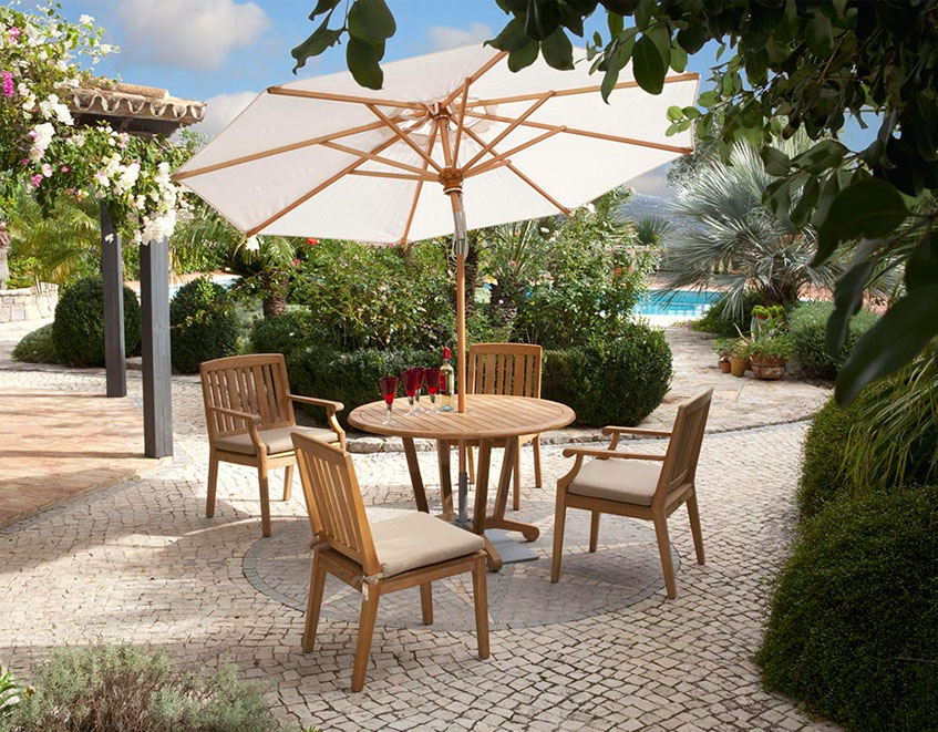 Patio U0026 Things | Barlow Tyrieu0027s Outdoor Garden And Patio Tables And Chairs  Have Weathered The Test Of Time. Their Plantation Grown Teak Is Worked Into  Some ...