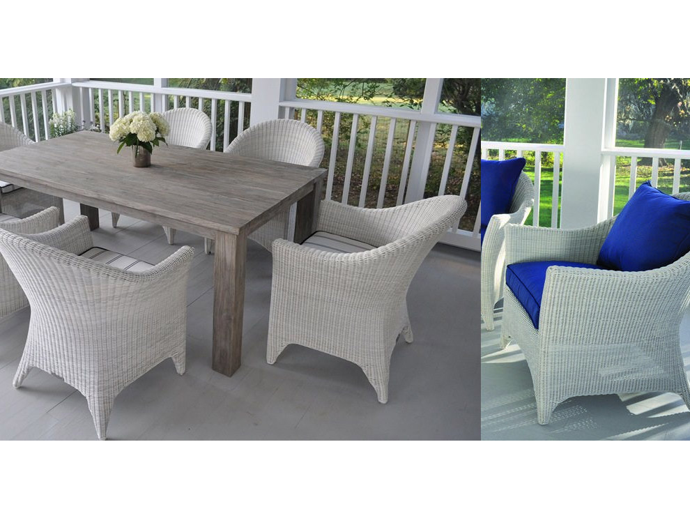 Patio U0026 Things | Kingsley Bate | Cape Cod Sophisticated Version Of Classic  Wicker Porch Furniture !