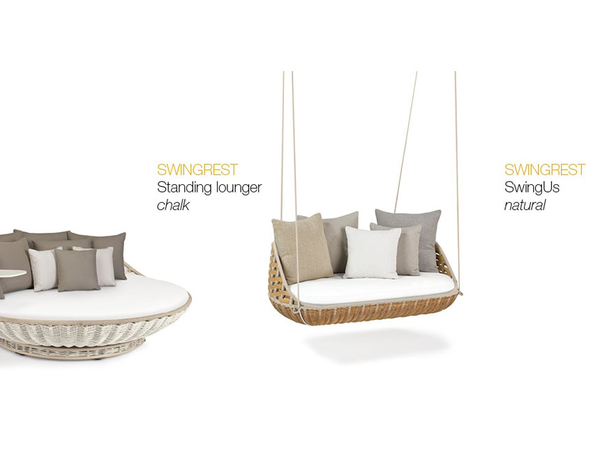 Patio Things Dedon Is Unique Outdoor Furniture In Harmony Between Work And Nature