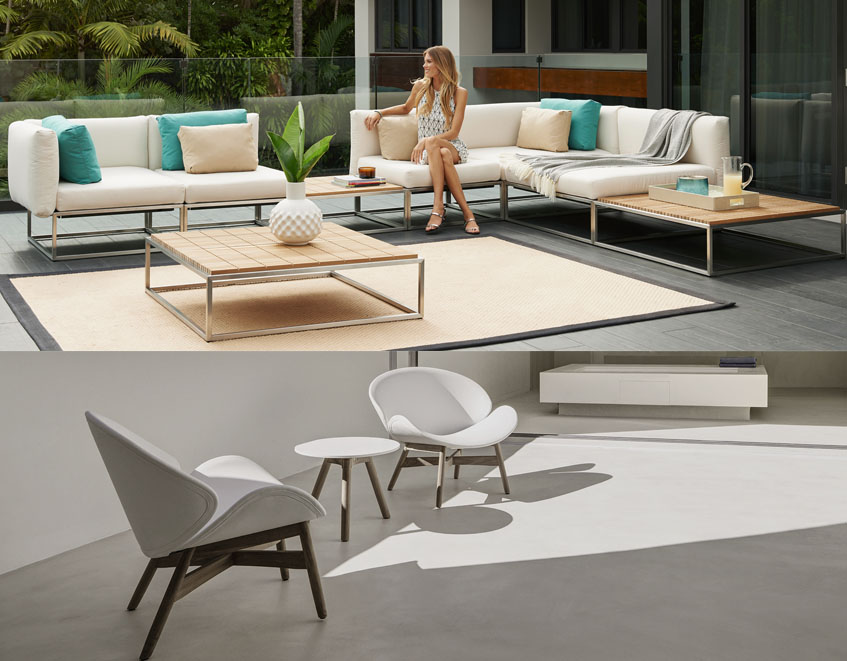 Patio U0026 Things | Gloster Outdoor Furniture In Either Teak, Aluminum,  Stainless Steel.