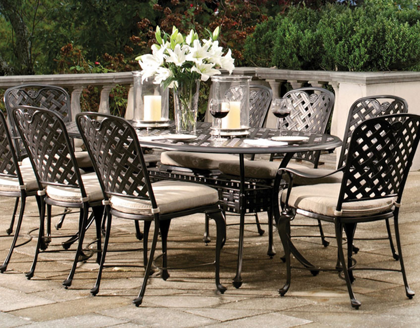 Patio U0026 Things | Summer Classics Luxury Outdoor Furniture Includes Quality  Resin Wicker, Cast Aluminum, Wrought Aluminum, Teak, And Wrought Iron Patio  ...