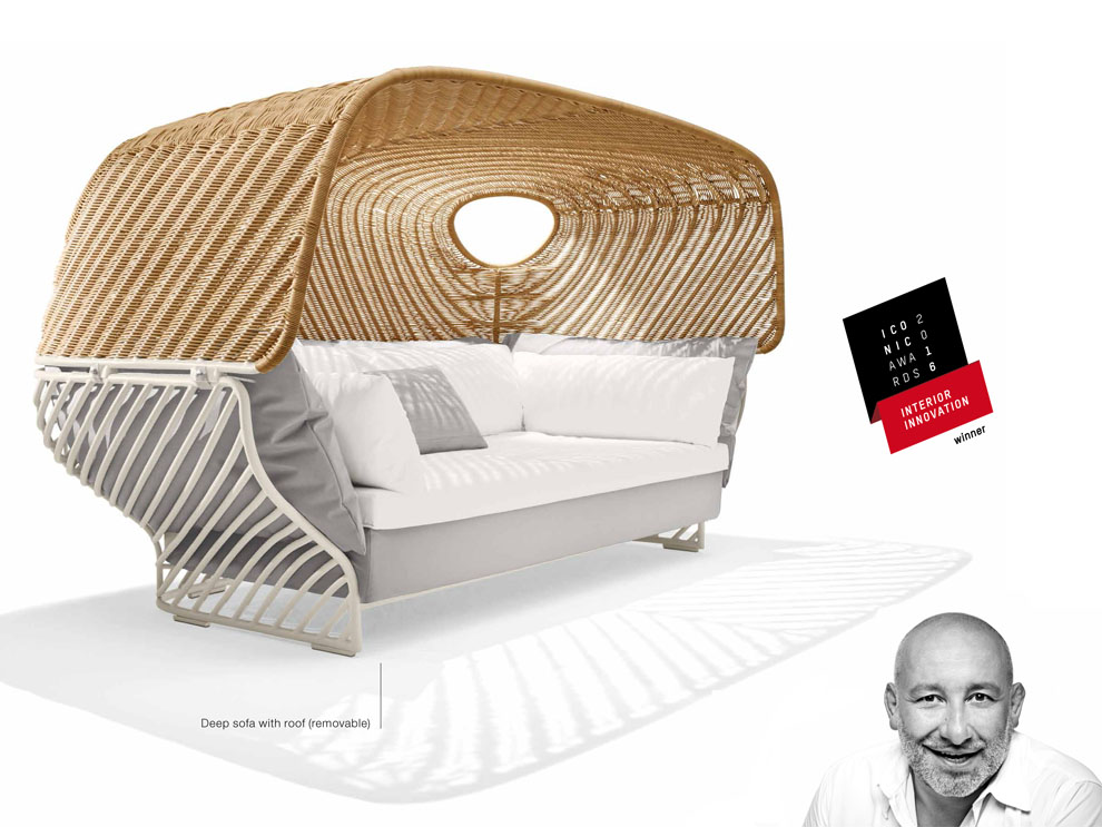 patio things dedon receives best of the best award s from interiors magazine. Black Bedroom Furniture Sets. Home Design Ideas