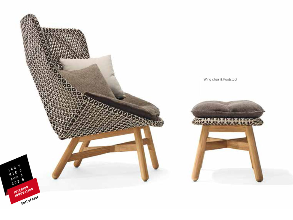 dedon outdoor furniture. dedon receives u201cbest of the bestu201d awards from interiors magazine three collections manufacturers exclusive outdoor furniture u