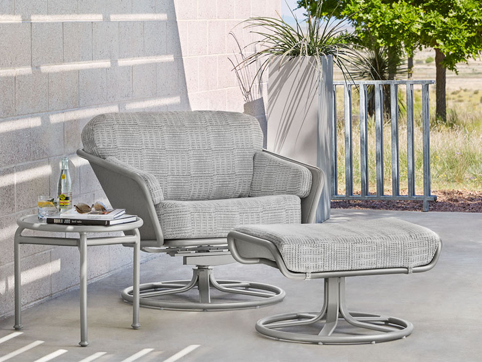 Patio things verge collection by brown jordan includes for Brown jordan lawn furniture
