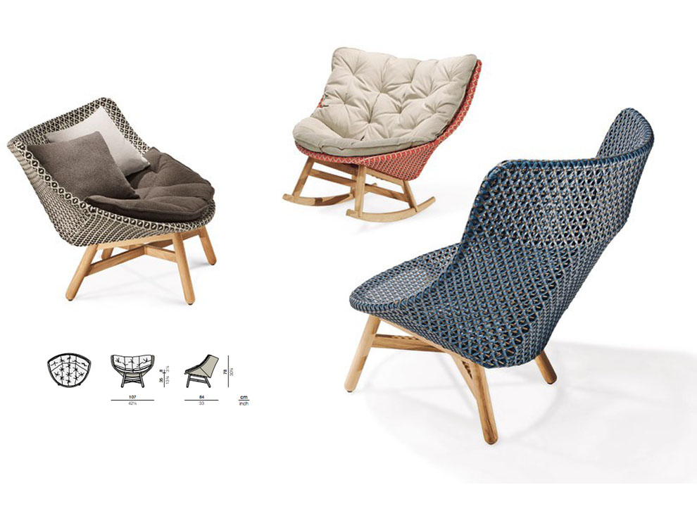 Patio things taking a joyfully unconventional approach for Dedon outdoor furniture