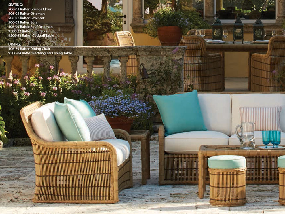 Her Inspirations Stemmed From 1930s To U002770s Vintage Palm Beach And  Cuban Inspired Sunroom Furniture Along With With Victorian Wicker.