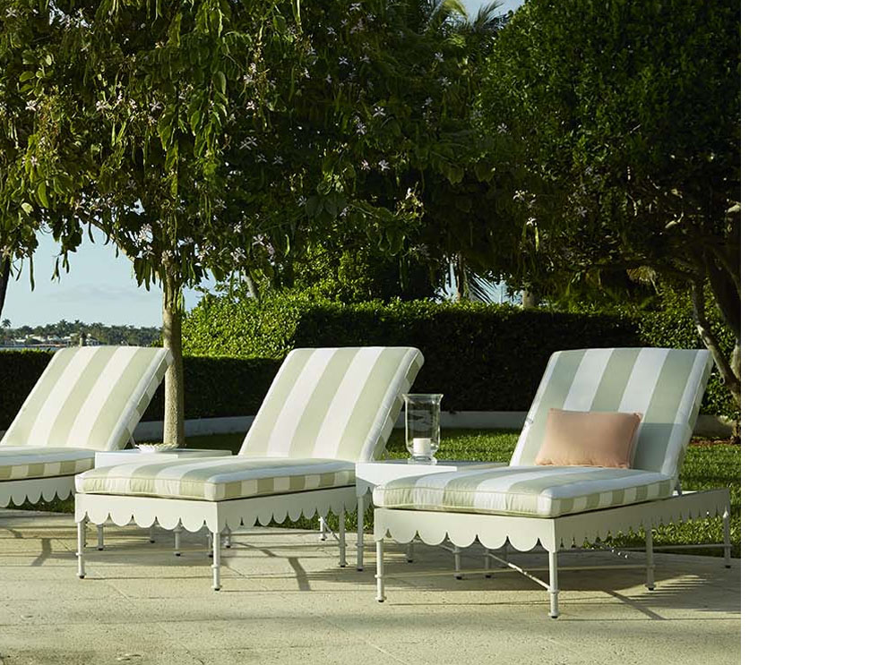 Patio Amp Things Celerie Kemble Inspirations Stemmed From 1930s To 70s Vintage Palm Beach And