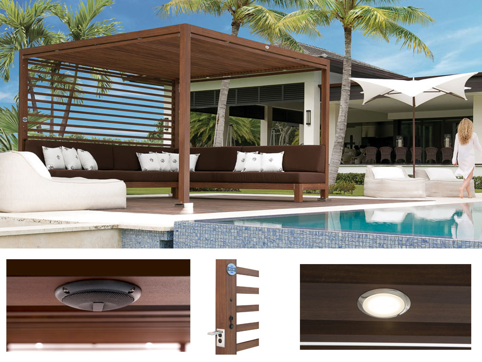 Equinox Cabana by Tuuci & Patio u0026 Things | A cabana is defined by where you live or who you ...