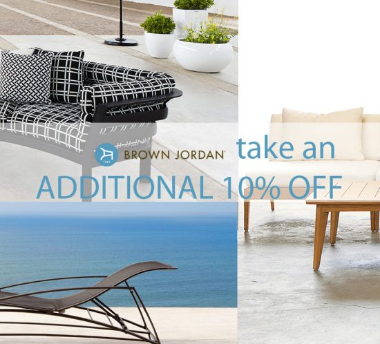 Take 10% Brown Jordan Outdoor Furniture Part 69