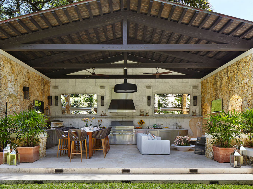 Patio & Things | Entertaining outdoors in Miami during the ... on Outdoor Patio Design Ideas id=16279
