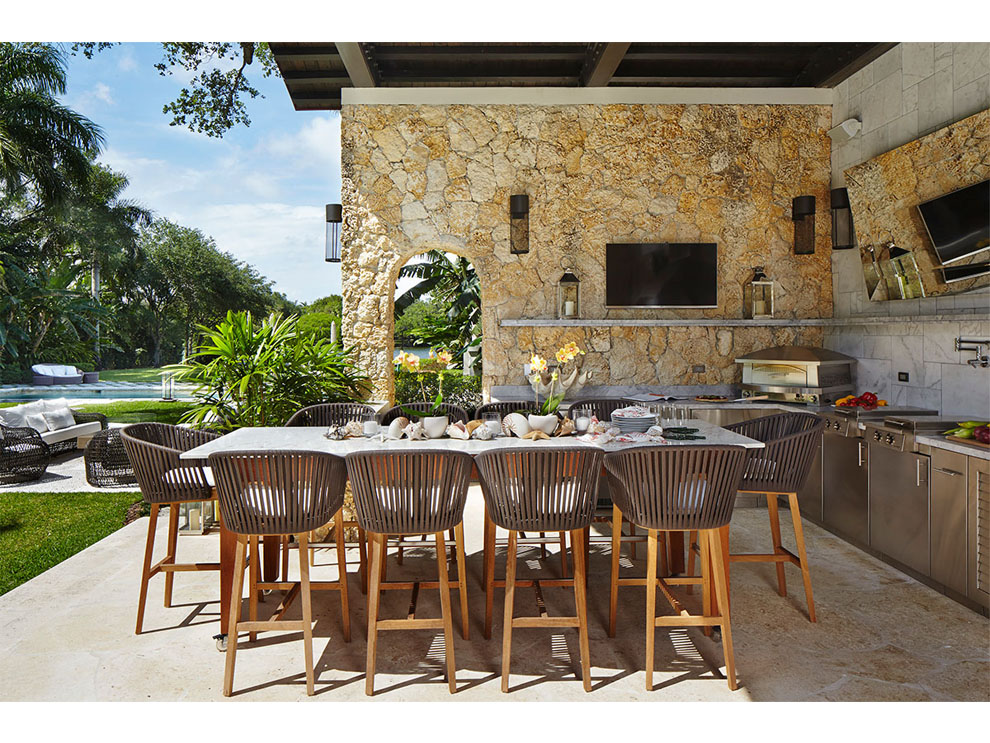 Patio Amp Things Entertaining Outdoors In Miami During The